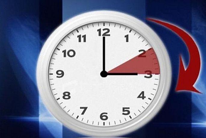 pomjeranje sata