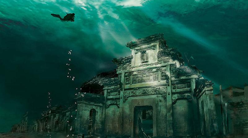 Podvodni grad Kina