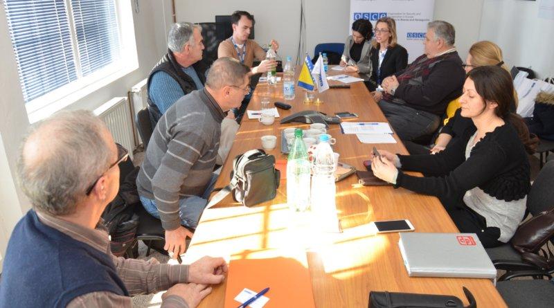 Sastanak novinari i Osce