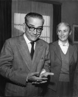 Ivo Andrić i Milica Babić