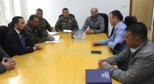 Delegacija Oružanih snaga u Srebrenici