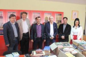 Novi Sad poklonio knjige biblioteci