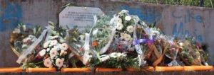 Obiljezavanje na igralistu u Srebrenici
