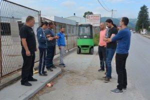 Protest radnika Bratunac