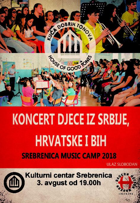 Koncert djece iz Srbije, Hrvateske i BiH